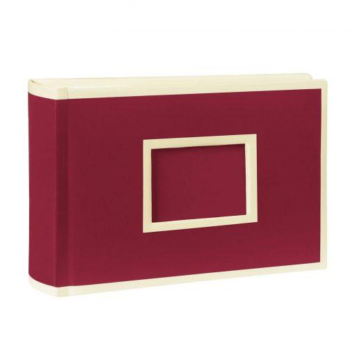 100 Pocket Album Landscape, 100 pages, photos 10 x 15 cm, burgundy | 4004117516405 | 356045
