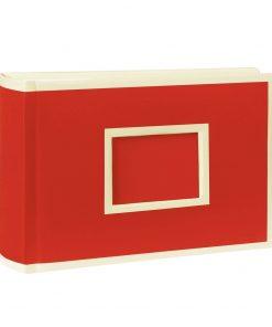 100 Pocket Album Landscape, 100 pages, photos 10 x 15 cm, red | 4004117516399 | 356044