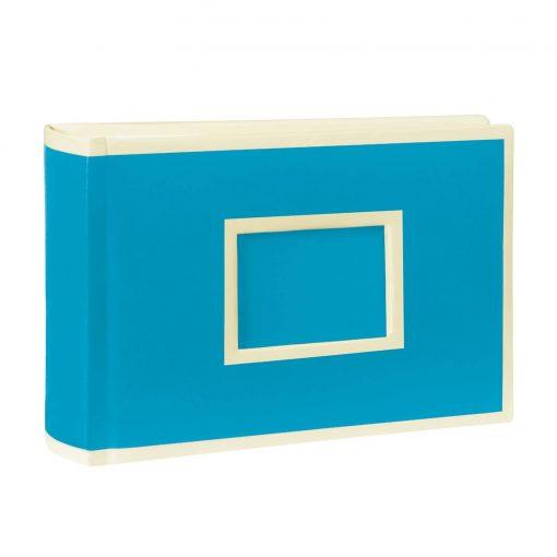 100 Pocket Album Landscape, 100 pages, photos 10 x 15 cm, turquoise   4004117516498   356055