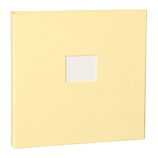17 Rings Photo Album & Guest Book with book linen cover, chamois | 4250053645826 | 353356