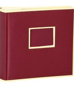 200 Pocket Album, 100 pages, photos 10 x 15 cm, burgundy | 4250053626634 | 351134