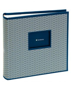 200 Pocket Album, 100 pages, photos 10 x 15 cm, marine | 4250540927077 | 354787