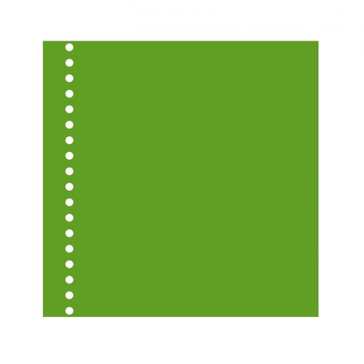 23 Rings Photo Mounting Board, 20 sheets, 270g/m_, lime   4250053650141   353073
