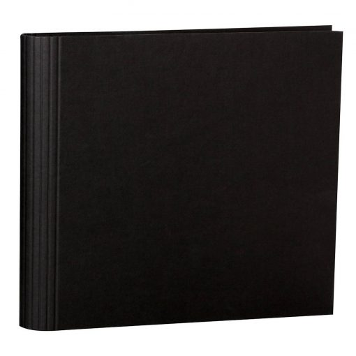 23 Rings Scrapbooking Ring Binder, expendable, efalin cover, black | 4250053631980 | 353288