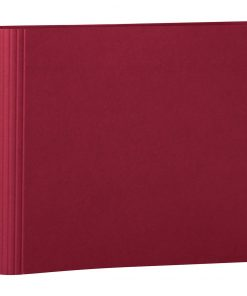 23 Rings Scrapbooking Ring Binder, expendable, efalin cover, burgundy | 4250053631966 | 353286
