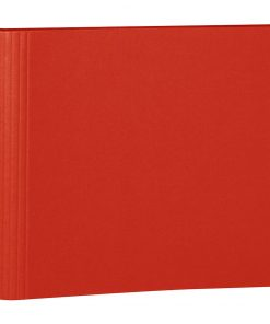 23 Rings Scrapbooking Ring Binder, expendable, efalin cover, red | 4250053631959 | 353285