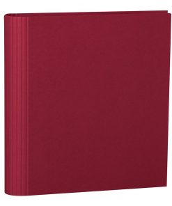 4 Rings Photo Ring Binder, expendable, efalin cover, burgundy | 4250053633076 | 353301