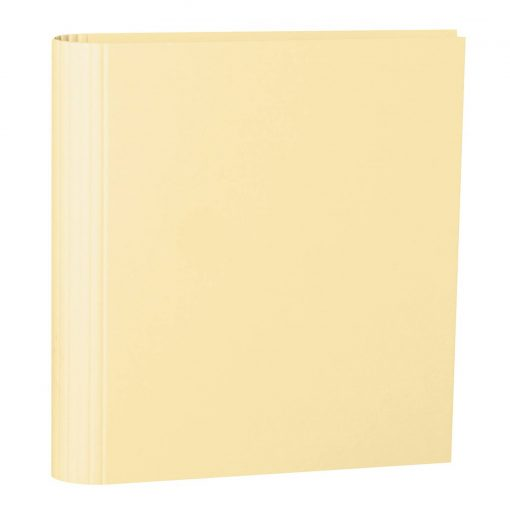 4 Rings Photo Ring Binder, expendable, efalin cover, chamois   4250053645864   353310