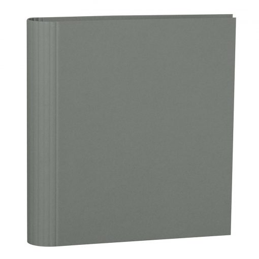 4 Rings Photo Ring Binder, expendable, efalin cover, grey   4250053625194   353308