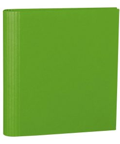 4 Rings Photo Ring Binder, expendable, efalin cover, lime | 4250053633137 | 353307