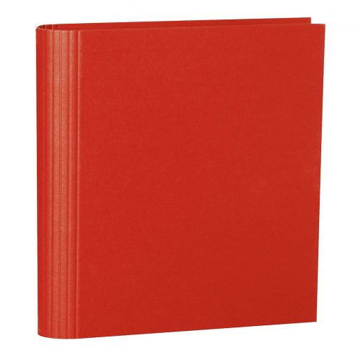4 Rings Photo Ring Binder, expendable, efalin cover, red | 4250053633069 | 353300