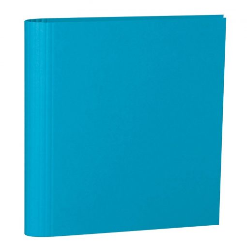 4 Rings Photo Ring Binder, expendable, efalin cover, turquoise | 4250053696958 | 353312