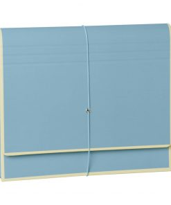 Accordion, file folder with 12 pockets, elastic band closure, ciel | 4250053692455 | 351984