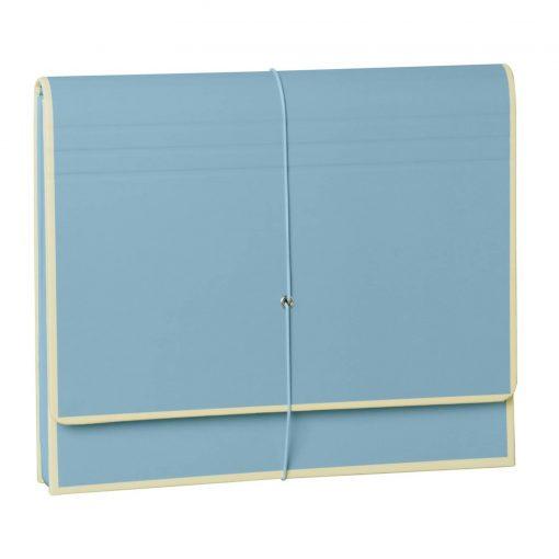 Accordion, file folder with 12 pockets, elastic band closure, ciel   4250053692455   351984