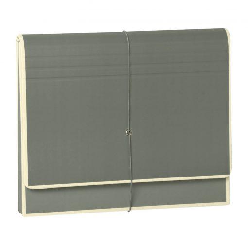Accordion, file folder with 12 pockets, elastic band closure, grey   4250053692493   351987