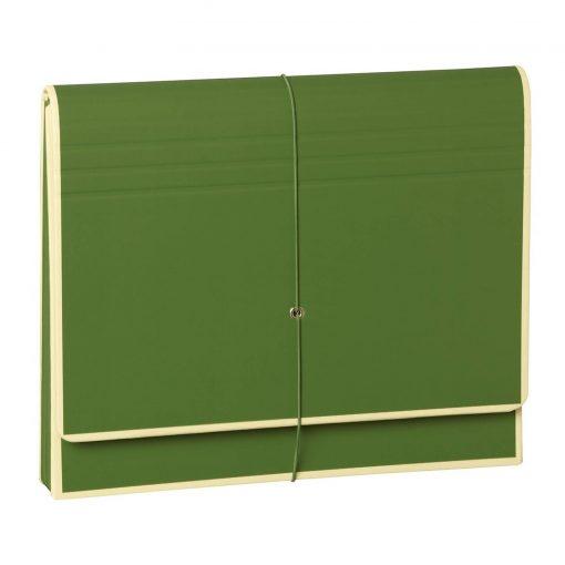 Accordion, file folder with 12 pockets, elastic band closure, irish | 4250053692448 | 351983