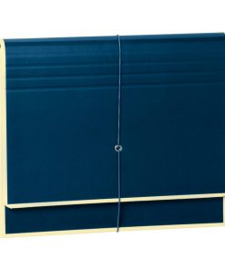 Accordion, File Folder with 12 Pockets, Elastic Band Closure, marine | 4250053658970 | 351978