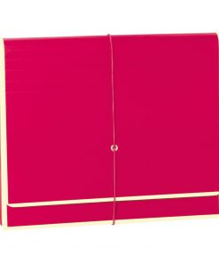 Accordion, file folder with 12 pockets, elastic band closure, pink | 4250053692431 | 351981