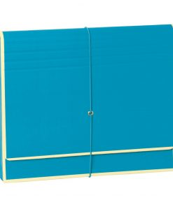 Accordion, file folder with 12 pockets, elastic band closure, turquoise | 4250053696767 | 351991
