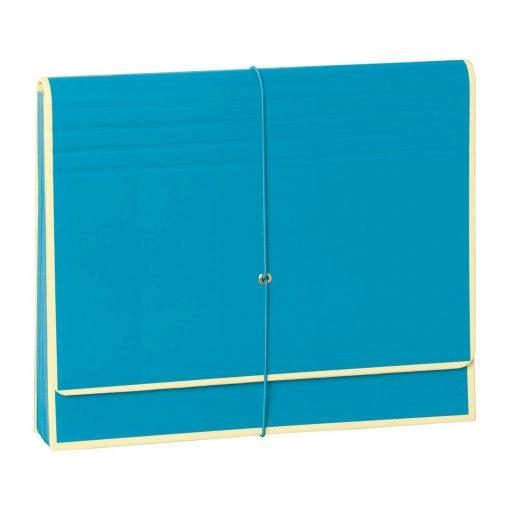 Accordion, file folder with 12 pockets, elastic band closure, turquoise   4250053696767   351991