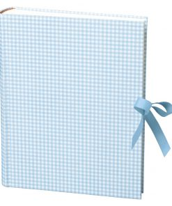Album Large, booklinen cover, 130p., cream white mounting board, glassine paper,Vichy blue | 4250053621714 | 351038