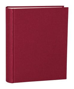 Album Large, booklinen cover, 130pages, cream white mounting board,glassine paper,burgundy | 4250053621585 | 351024