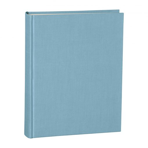 Album Large, booklinen cover, 130pages, cream white mounting board, glassine paper, ciel | 4250053621622 | 351028