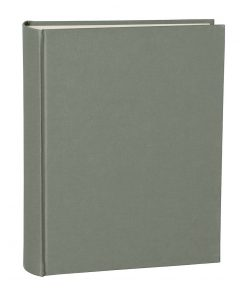 Album Large, booklinen cover, 130pages, cream white mounting board, glassine paper, grey | 4250053621660 | 351032