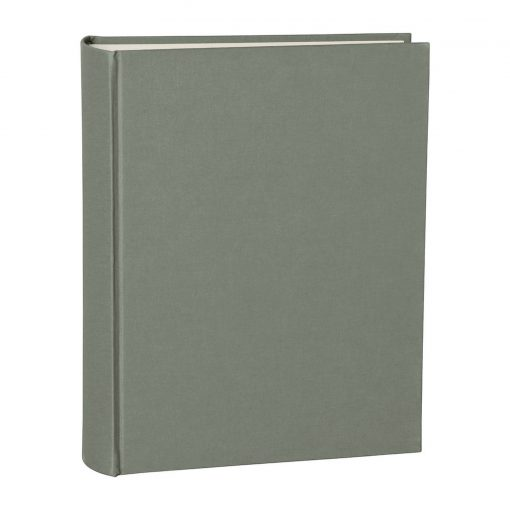 Album Large, booklinen cover, 130pages, cream white mounting board, glassine paper, grey   4250053621660   351032