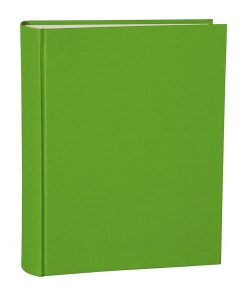 Album Large, booklinen cover, 130pages, cream white mounting board, glassine paper, lime | 4250053621653 | 351030