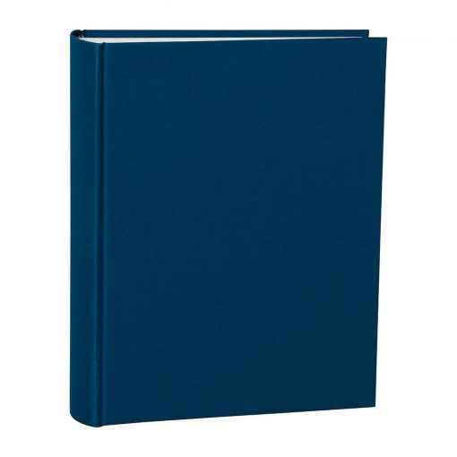 Album Large, booklinen cover, 130pages, cream white mounting board, glassine paper, marine | 4250053621561 | 351022