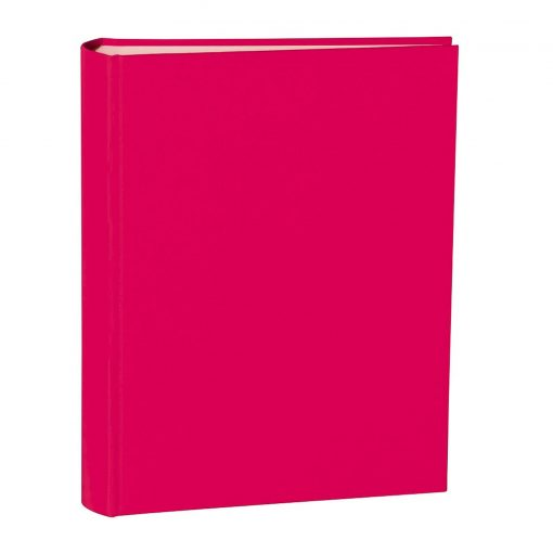 Album Large, booklinen cover, 130pages, cream white mounting board, glassine paper, pink | 4250053621592 | 351025