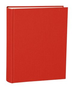 Album Large, booklinen cover, 130pages, cream white mounting board, glassine paper, red | 4250053621578 | 351023