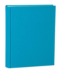 Album Large, booklinen cover, 130pages,cream white mounting board,glassine paper,turquoise | 4250053697054 | 351036