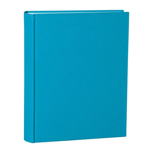 Album Large, booklinen cover, 130pages,cream white mounting board,glassine paper,turquoise   4250053697054   351036