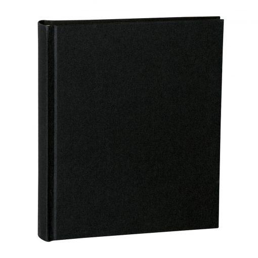 Album Medium, booklinen cover, 80pages, cream white mounting board, glassine paper, black | 4250053620786 | 351008