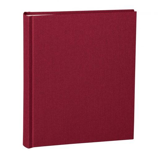 Album Medium, booklinen cover, 80pages, cream white mounting board,glassine paper,burgundy | 4250053620762 | 351006