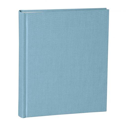 Album Medium, booklinen cover, 80pages, cream white mounting board, glassine paper, ciel   4250053620809   351010