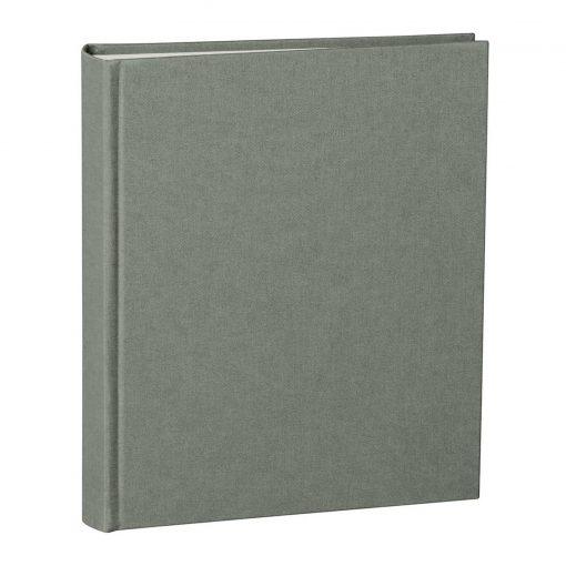 Album Medium, booklinen cover, 80pages, cream white mounting board, glassine paper, grey | 4250053620847 | 351014