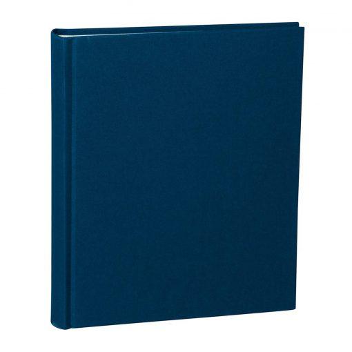 Album Medium, booklinen cover, 80pages, cream white mounting board, glassine paper, marine | 4250053620748 | 351004
