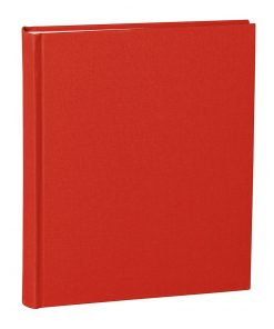Album Medium, booklinen cover, 80pages, cream white mounting board, glassine paper, red | 4250053620755 | 351005