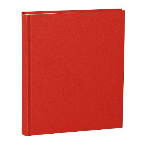 Album Medium, booklinen cover, 80pages, cream white mounting board, glassine paper, red | 4250053620755 | 351005