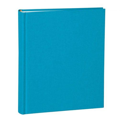 Album Medium, booklinen cover, 80pages,cream white mounting board,glassine paper,turquoise | 4250053697047 | 351018