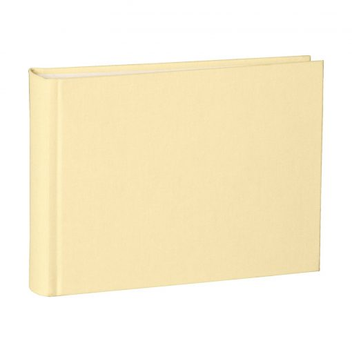 Album Small, 80pages, cream white mountning board, glassine paper,book linen cover,chamois   4250053646038   350994