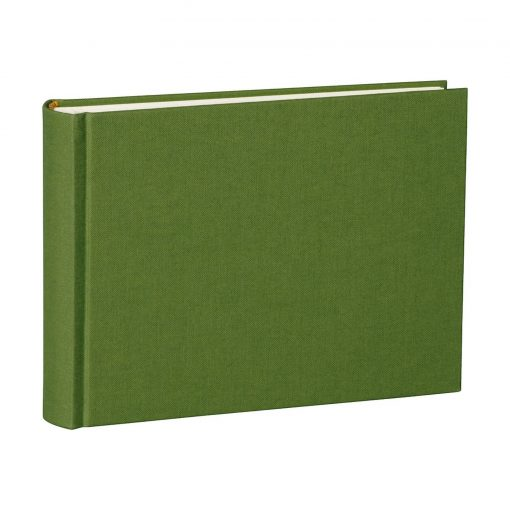 Album Small, 80pages, cream white mountning board, glassine paper,book linen cover, irish   4250053620083   350984