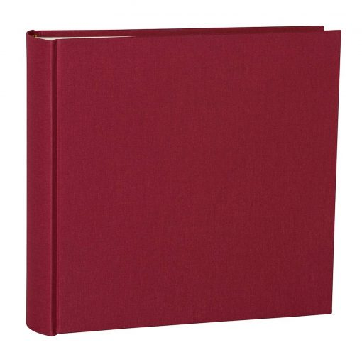 Album Xlarge, booklinen cover, 130pages,cream white mounting board,glassine paper,burgundy | 4250053622476 | 351043