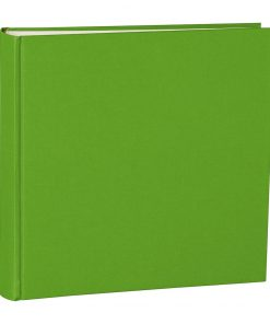Album Xlarge, booklinen cover, 130pages,cream white mounting board, glassine paper, lime | 4250053622544 | 351050
