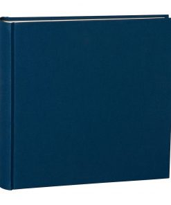 Album Xlarge, booklinen cover, 130pages,cream white mounting board, glassine paper, marine | 4250053622452 | 351040