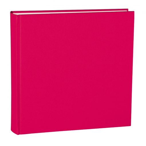 Album Xlarge, booklinen cover, 130pages,cream white mounting board, glassine paper, pink | 4250053622483 | 351044