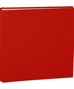 Album Xlarge, booklinen cover, 130pages,cream white mounting board, glassine paper, red | 4250053622469 | 351041